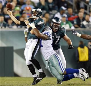 Nick Foles, Jason Hatcher