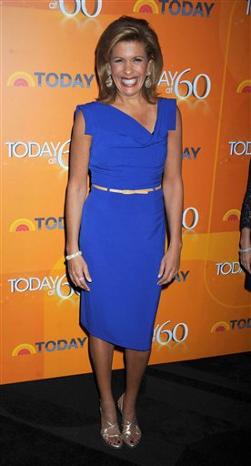 STRMX Star Max/IPx A ENT New York USA IPX Hoda Kotb replaces Matt Lauer on NBC's 'Today'