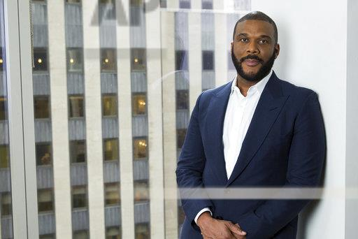 Tyler Perry Portrait Session