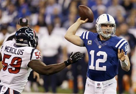 Andrew Luck, Whitney Mercilus