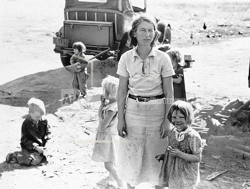 Associated Press Domestic News California United States U.S. DUST BOWL MIGRATORY WORKER