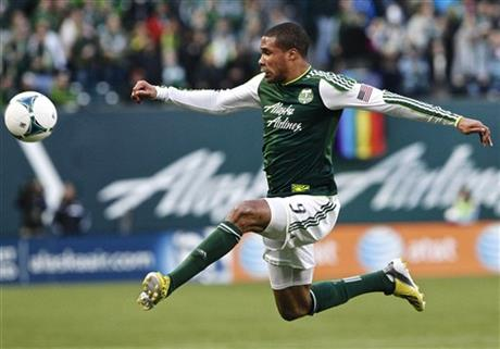 The Portland Timbers play AIK at Jeld-Wen Field