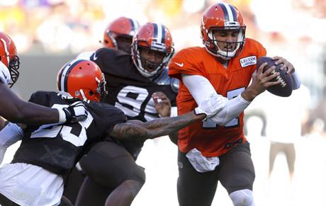 Browns Scrimmage Football