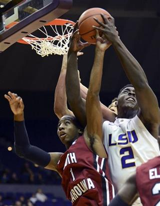LSU South Carolina Basketball