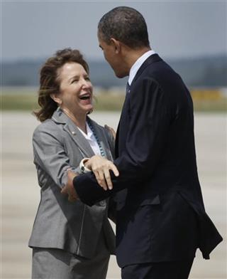 Barack Obama, Kay Hagan