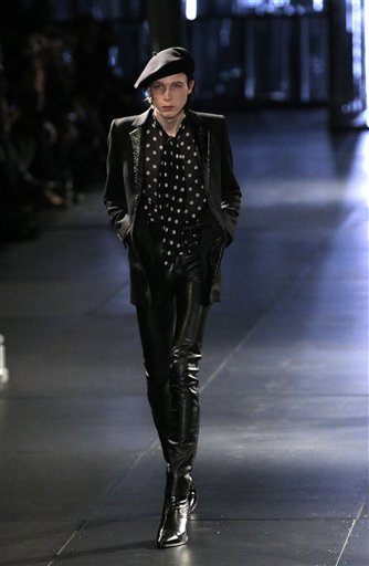 Paris Fashion Saint Laurent