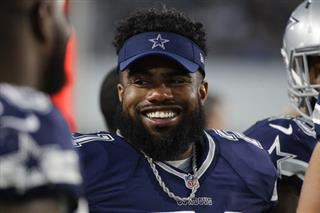 Cowboys-Elliott Suspended Football