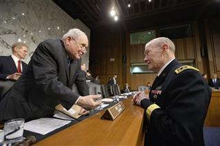 Carl Levin, Martin Dempsey