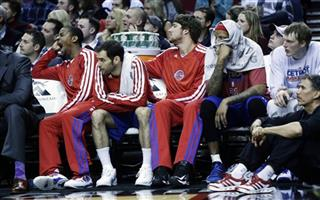 Pistons Trail Blazers Basketball