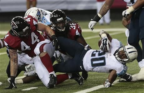 Titans Falcons Football