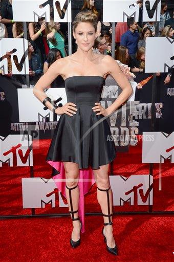 inVision Jordan Strauss/Invision/AP a ENT CA USA INVW 2014 MTV Movie Awards - Arrivals