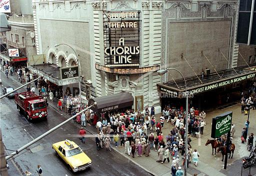 Associated Press Domestic News New York United States NYC A CHORUS LINE