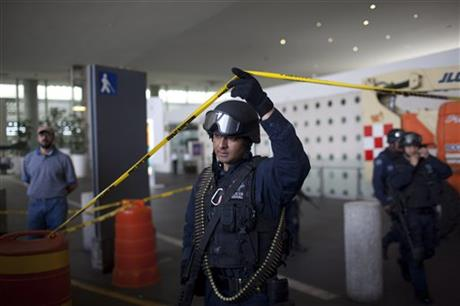 Mexico Airport Shooting