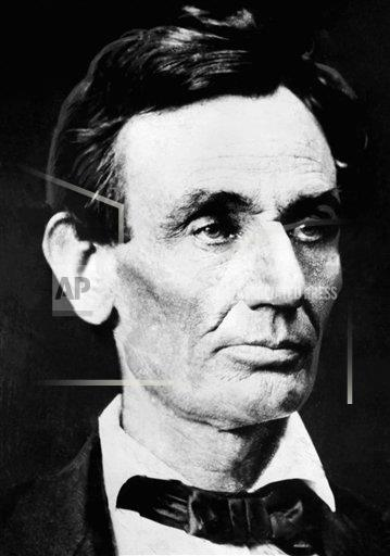 Watchf Associated Press Domestic News  Illinois United States APHS116892 Abraham Lincoln 1860