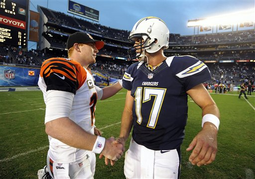 Andy Dalton, Philip Rivers