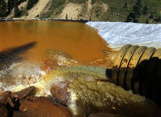 Mine Waste Spill-New Mexico