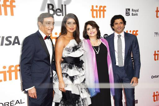 """2019 TIFF - """"The Sky Is Pink"""" Premiere"""