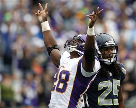 Adrian Peterson, Richard Sherman