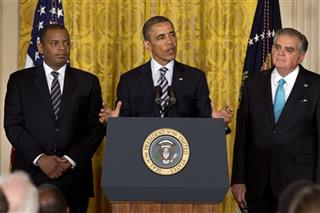 Barack Obama, Anthony Foxx, Ray LaHood