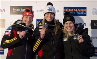 Alex Gough Natalie Geisenberger Taatjana Hufner