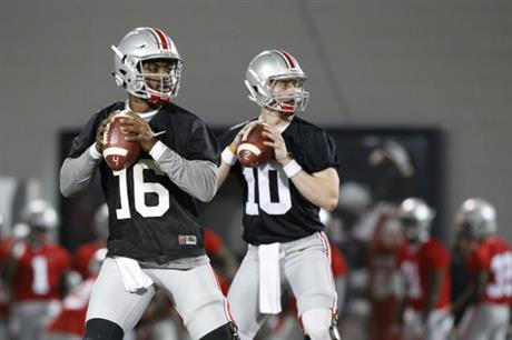 J.T. Barrett, Joe Burrow