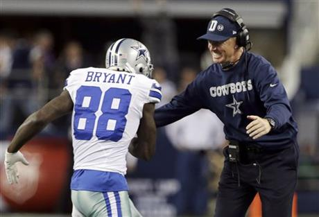 Dez Bryant, Jason Garrett
