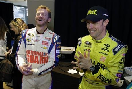 Dale Earnhardt Jr., Matt Kenseth