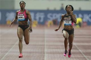 Shelly-Ann Fraser-Pryce, Carmelita Jeter