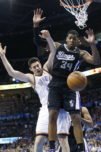 Nick Collison, Jason Thompson