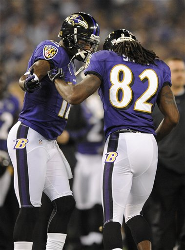 Jacoby Jones, Torrey Smith