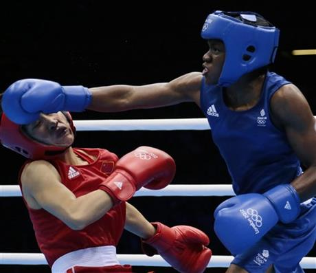 APTOPIX London Olympics Boxing Women