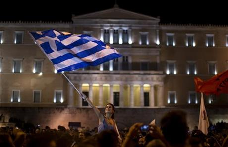 Greece decisively votes 'no' on eurozone bailout referendum
