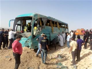 Mideast Egypt Bus Accident