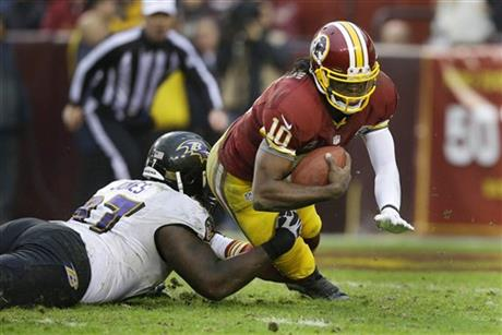 Robert Griffin III, Arthur Jones
