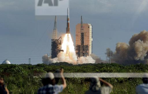 Delta IV Rocket Launch in Cape Canaveral, US - 22 Aug 2019