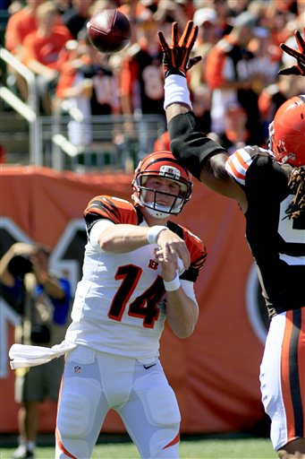 Andy Dalton, Jabaal Sheard
