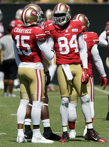 Michael Crabtree, Randy Moss