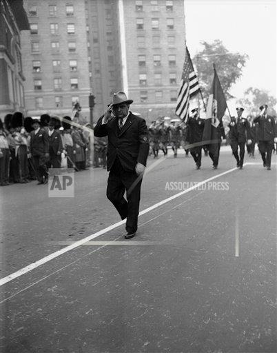 Watchf AP A  NY USA APHS195701 Mayor Fiorello LaGuardia