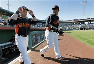 Marco Scutaro, Hector Sanchez