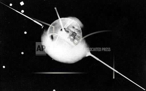 Associated Press International News Czech Republic SPUTNIK 1 MODEL