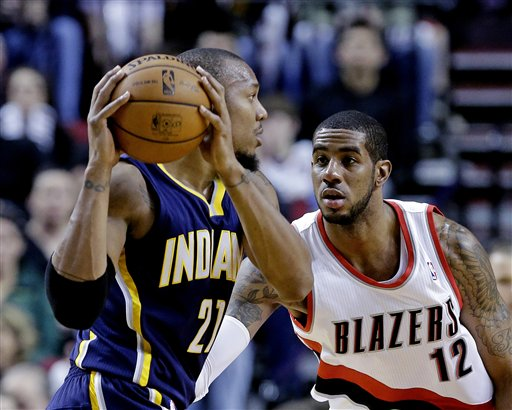 LaMarcus Aldridge, David West