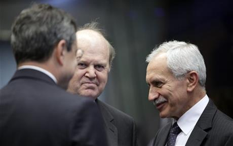 Michael Noonan, Mario Draghi, Vasos Shiarly