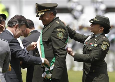 Colombia New Police Chief