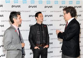 Evan Shapiro, Joseph Gordon-Levitt, Jim Berk