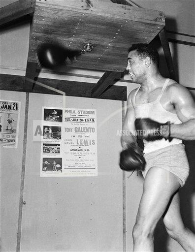 Watchf Associated Press Sports Boxing New Jersey United States APHS127296 John Henry Lewis