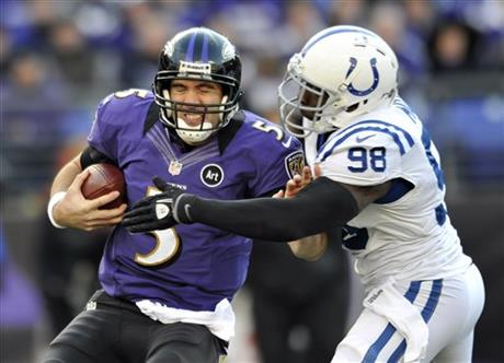 Joe Flacco, Robert Mathis