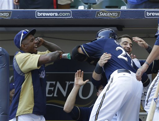 Carlos Gomez, Ryan Braun, Nyjer Morgan