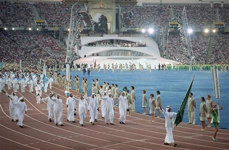 Mideast Saudis Olympic Challenge