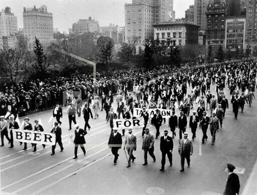 Watchf Associated Press Domestic News  New York United States APHS181058 Anti Prohibition Rally 1933