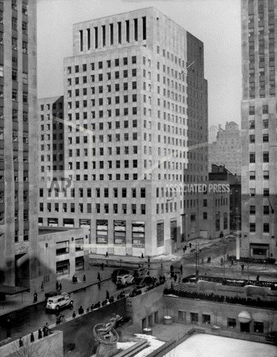 The Associated Press Building, 50 Rockefeller Plaza, NYC
